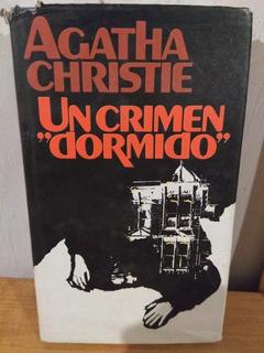 Un Crimen Dormido. Agatha Christie