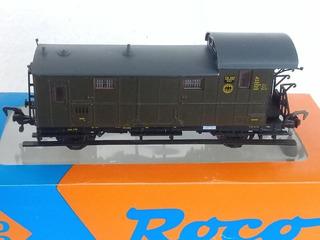 Ruca Furgón Roco De Los Ferrocarriles Alemanes Esq Drg H0