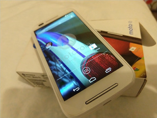 Motorola E1 Xt1021 Blanco. Nuevo. Libre $1499.