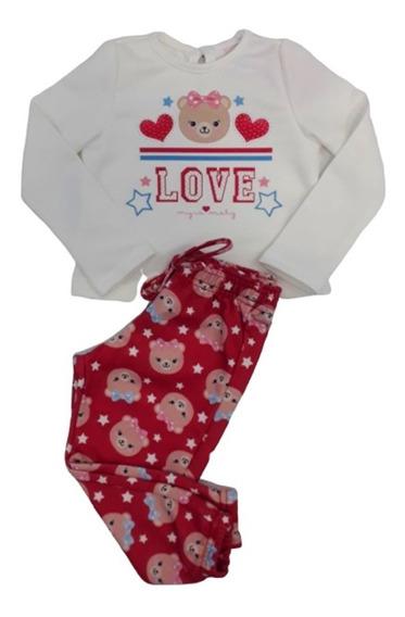 Roupa Para Inverno Infantil Feminino Festa Com Calça Moderna