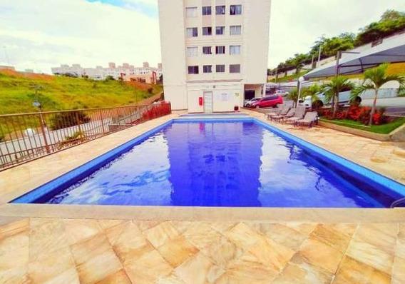 Apartamento Com 2 Quartos Para Alugar No Cabral Em Contagem/mg - 48090