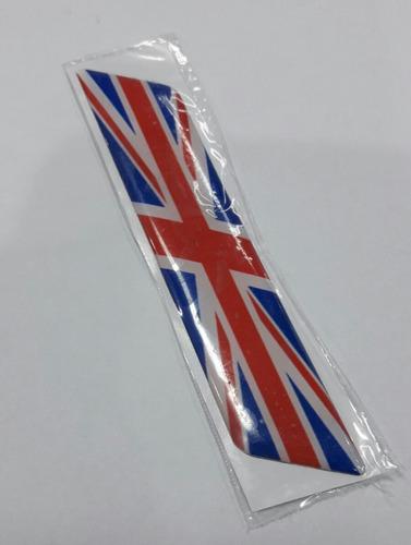Calcos Banderines 3d Para Auto Bandera Inglaterra 12cmx2.5cm
