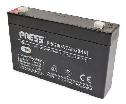 Bateria 6v-7 Ah