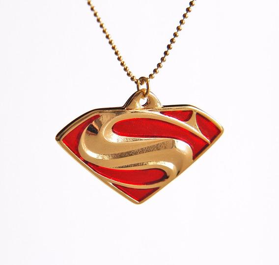 Colar Superman Dourado