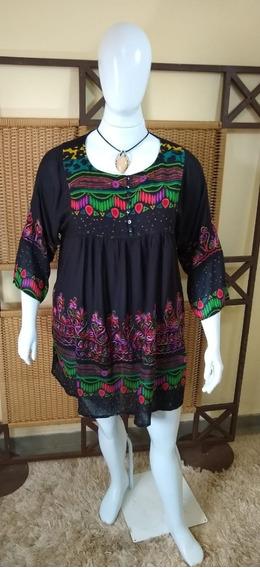 Vestido /bata/veste Legue /plus Size Indiana C341