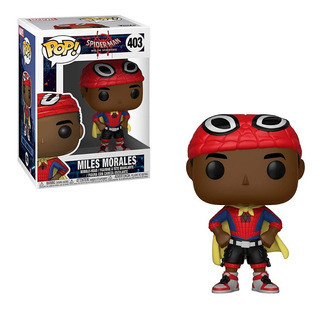 Funko Pop Spider-man Miles Morales With Cape