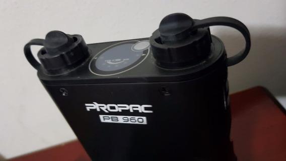 Godox Propack Pb960 Com 2 X Cabo Pra Canon, Bateria, Flash