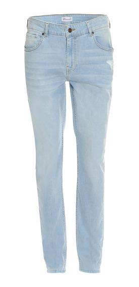 Jeans Corte Skinny Tapered De Hombre C&a Básicos
