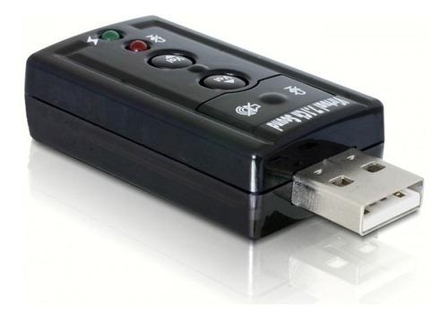 Ltc Tarjeta De Sonido Usb Virtual 7.1 Channel