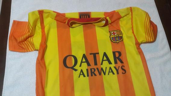 Lote 3 Remeras Futbol. Barcelona Instituto.