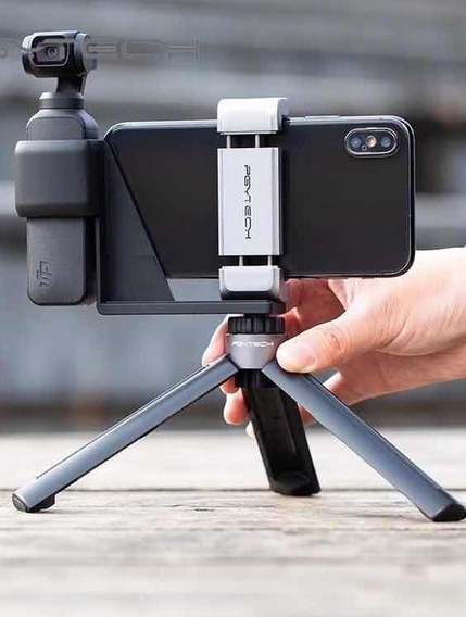 Kit Mini Tripé + Holder Pgytech Osmo Pocket (tripé Suporte)