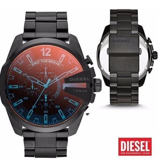 Relógio Dz 4318 Preto Camaleão