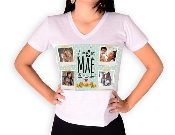 Camiseta Dia Das Mães Com Foto E Vídeo Selfmania