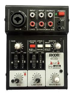 Consola 3 Canales Moon Mc302