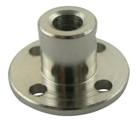 Flange Aço Eixo 5mm 6mm Micro Motor Redutor
