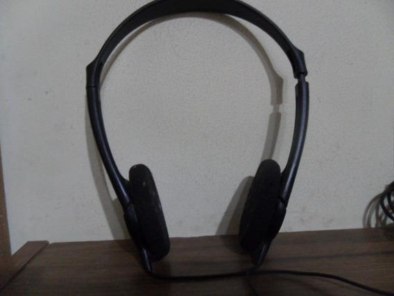 Fone De Ouvido Philips Shp1800 C/ Controle Volume E 6 Metros