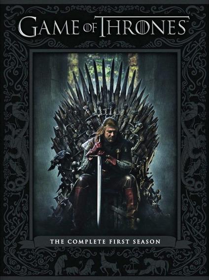 Coleção Box Dvd Game Of Thrones Todas 8 Temporadas Completo