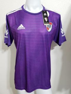 Camisa River Plate Away 18-19 Martinez Patch Liga Argentina