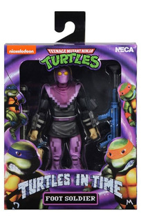 Neca Las Tortugas Ninjas Foot Soldier Tmnt Turtles In Time
