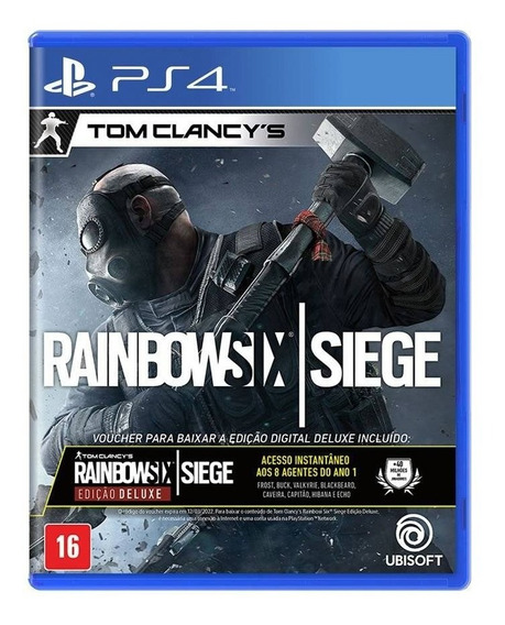 Rainbow Six Siege Midia Fisica Lacrado A Pronta Entrega