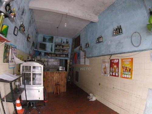 Salão Para Alugar, 16 M² Por R$ 800/mês - Parque Das Américas - Mauá/sp - Sl0070