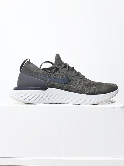 Tênis Nike Epic React Flyknit Corrida Verde Masculino N. 39 (7.5 Usa)