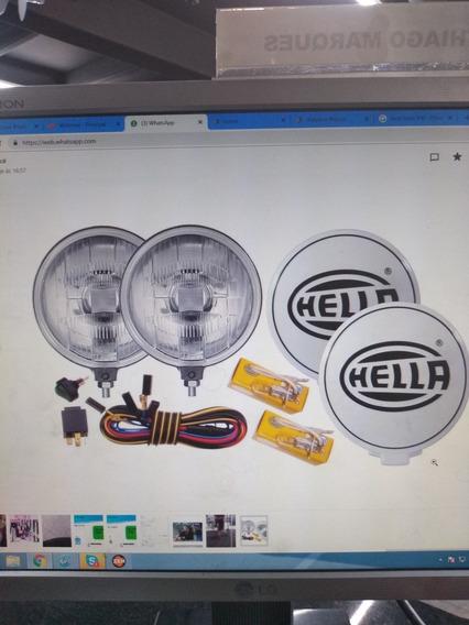 Kit 10 Farol Hella 500