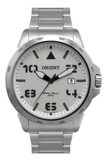 Relógio Orient Masculino Mbss1195a S2sx Prateado Militar