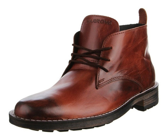 Bota Narrow Cuero Legitimo-art 31914 - Ultimos Pares-oferta