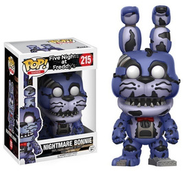 Five Nights At Freddy Boneco Pop Funko Bonnie Caixa Danifica
