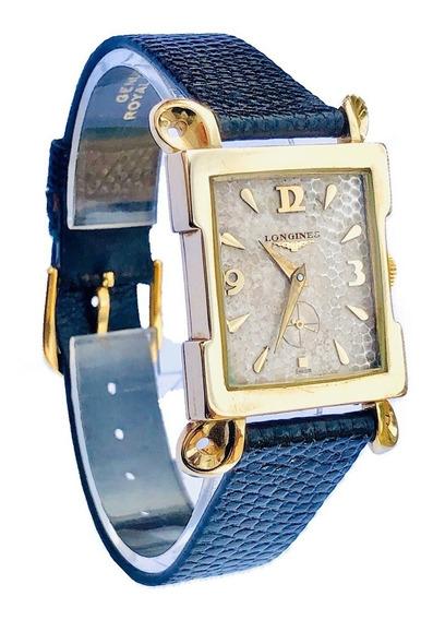 Relógio De Pulso Suíço Longines Wittnauer Ouro 14k Cal 9lt