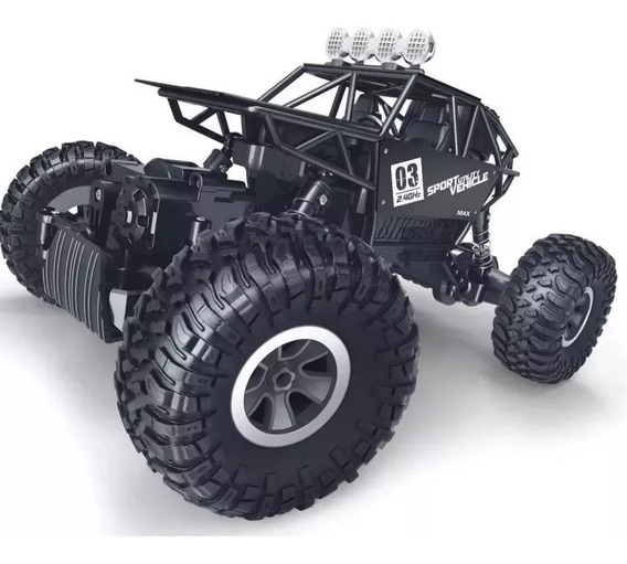 Carrinho 4x4 Rock Controle Remoto 4ch Buggy Truck Off Road