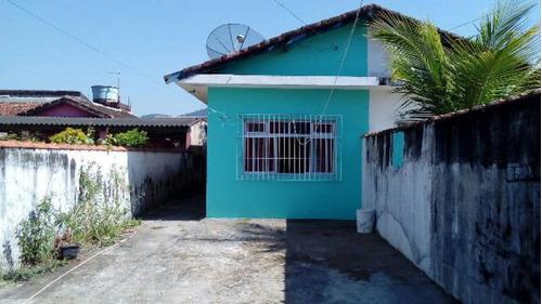 Casa Com Quintal E Área De Serviço Em Itanhaém - 3293   Npc
