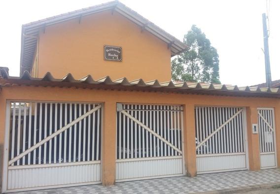Casa Assobrada No Canto Do Forte Com Linda Vista.