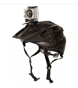 Suporte Go Pro Faixa Capacete Helmet Strap Hero 1 2 3 4 5 6