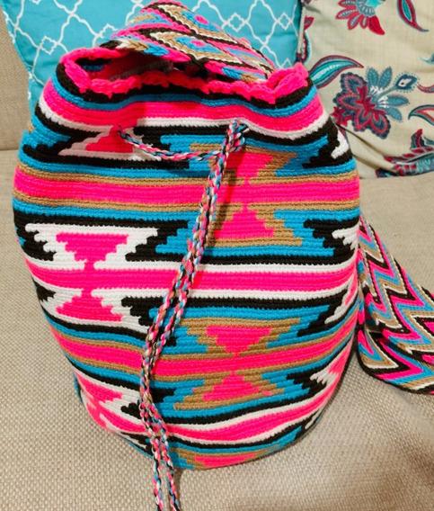 Bolsa Wayuu Com Desenho Original Colômbia Promoção