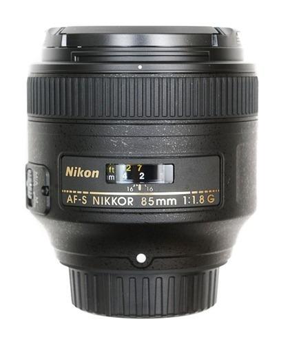 Lente Nikkor 85mm 1.8g