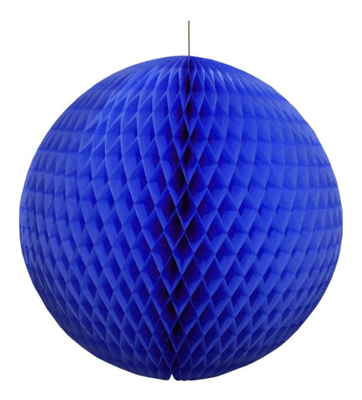 Esferas Nido De Abeja No 6 Paq. 10 Piezas