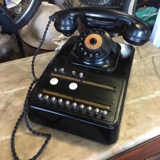 Telefone Antigo De Baquelite Central Antigo Grande Mesa 1008