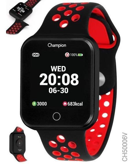 Relogio Champion Unissex Smartwatch Digital Ch50006v
