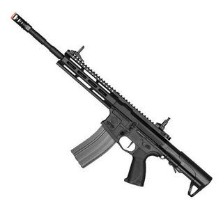 Rifle De Airsoft Elétrico G&g Cm16 Raider L 2.0 Etu Mosfet