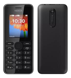 Celular Nokia 108 Dual Chip Desbloqueado Preto Radio