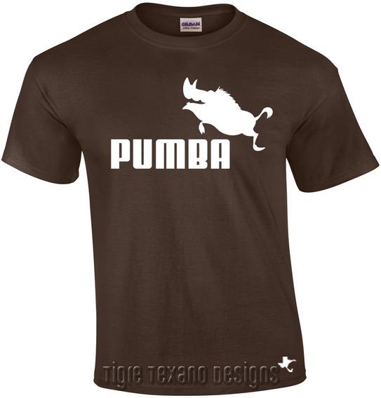 Playera Logo Pumba, Fun, Divertida By Tigre Texano Designs