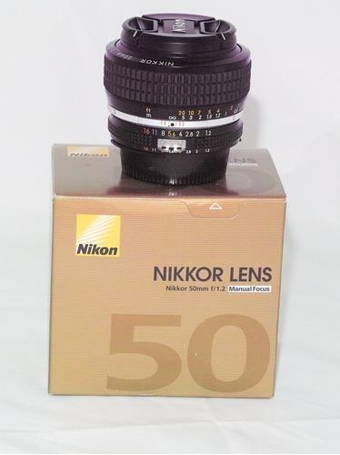 Lente Objetiva Nikon Nikkor 50mm F 1.2 Ai-s Aceito Oferta