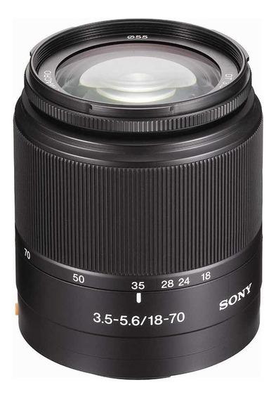 Lente Sony 18-70mm A-mount
