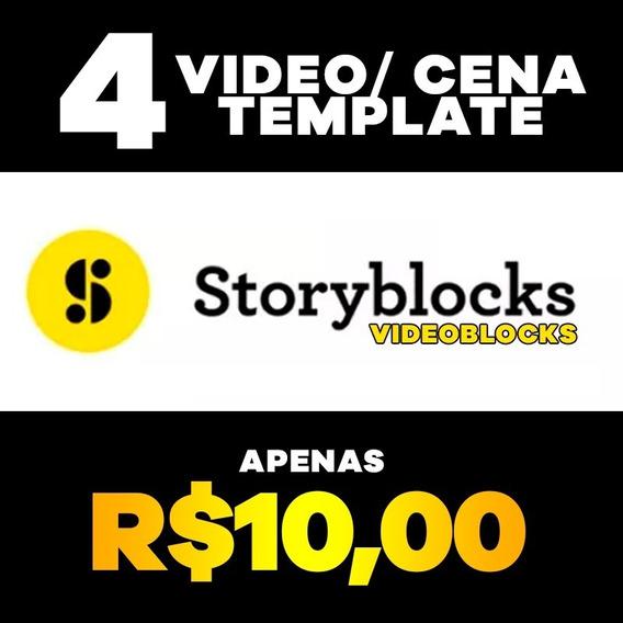 4 Videos / Cenas / Templates Videoblocks Storyblocks Hd 4k