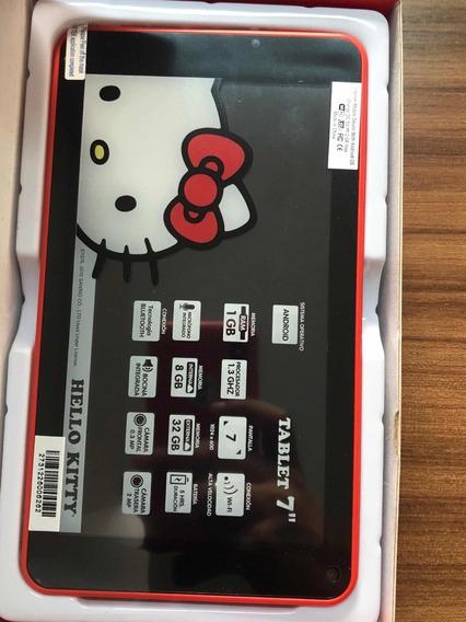 Tablet Hello Kitty 7 Quad Core 8gb Bluetooth Duas Cameras
