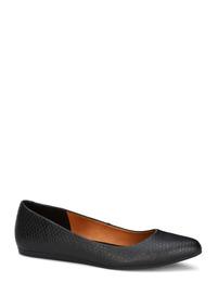 Zapatos Flat Ballerina Negro Dr Scholls Dama Sint Udt K46442