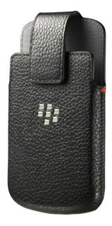 Funda Funda Funda Giratoria De Cuero Para Borde Blackberry