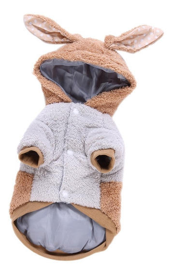 Chaqueta Perro Cachorro Ropa Conejo Abrigo Algodón Forma